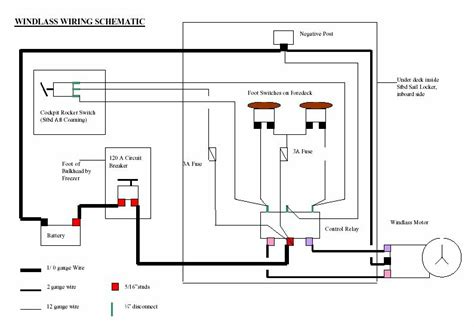 lewmar bow thruster wiring diagram lewmar bow thruster