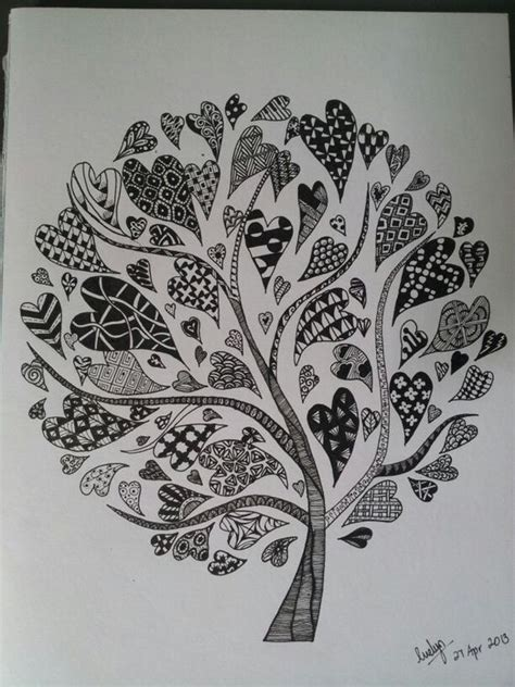 zentangle love pattern pinterest the world s catalog of ideas