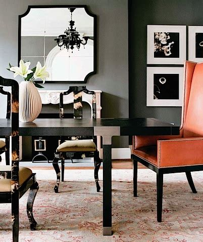 Orange And Grey Dining Room by Add Flair To Mid Century Modern With Orange Rugs 6 Chic Rooms