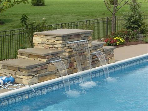 pool waterfall ideas best 25 pool waterfall ideas on pinterest grotto pool outdoor pool and pool with slide