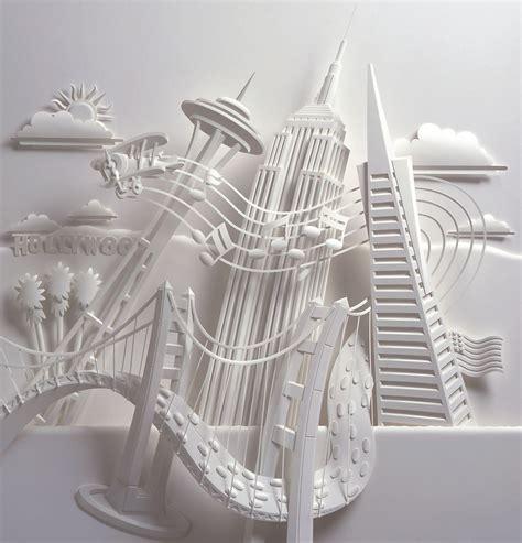 How To Make Paper Sculpture - jeff nishinaka paper sculpture
