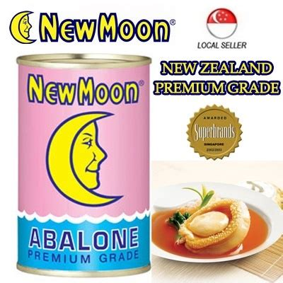 New Moon Abalone Mini Limpets qoo10 new moon new zealand superior abalone 1 1 5 pcs nett weight 425g 人 nutritious items