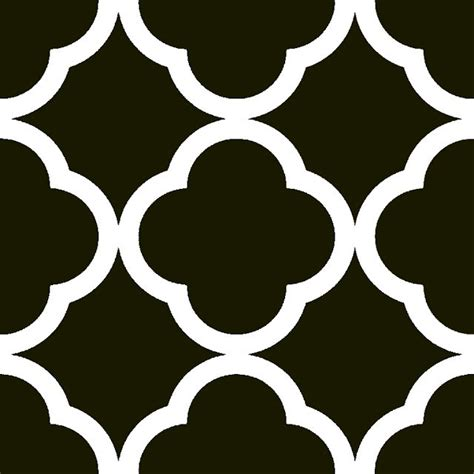 printable shapes patterns x stecil qutrefoil maroccan patterns diy ideas pinterest