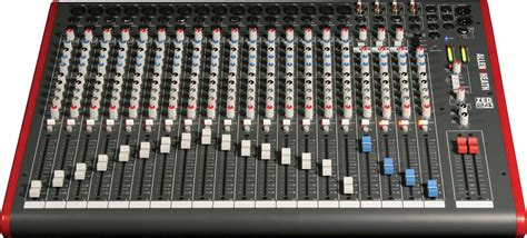 Allen Heath Mixer Live Zed24 allen heath zed 24 usb mixer