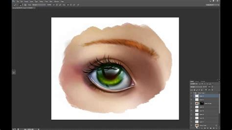 youtube tutorial paint painting glossy eye tutorial youtube