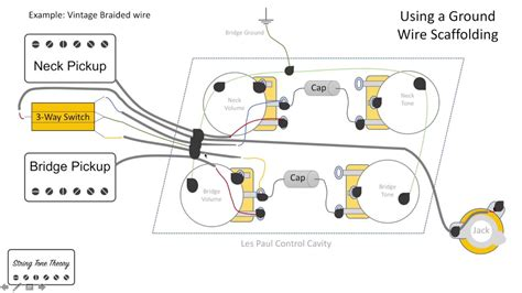 wiring diagram for gibson lucille guitar wiring diagram
