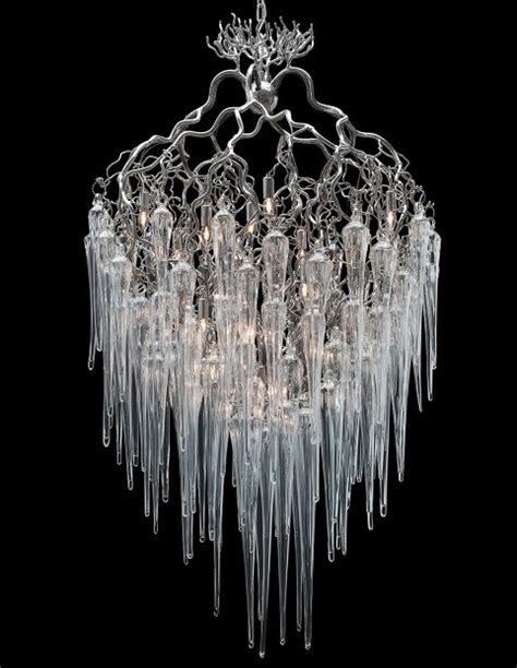 nature chandelier the hollywood icicle chandelier was inspired by the