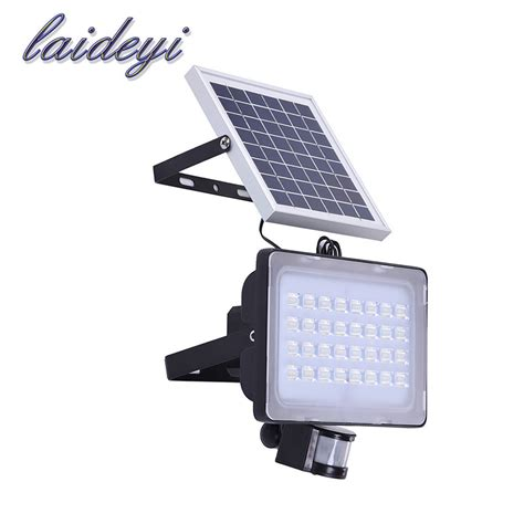 Solar Panels For Outdoor Lighting 2pcs 50w Solar Powered Ls Solar Panels 12v 24v Patio Lights 6000lms Motion Sensor Light