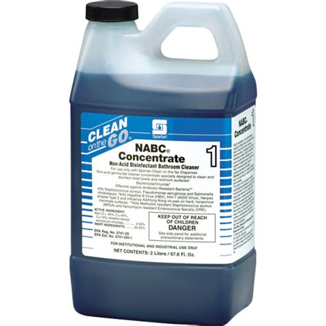 spartan bathroom american paper twine co spartan clean on the go nabc concentrate bathroom cleaner