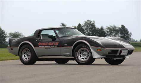 Indy 500 Corvette 1978 chevrolet corvette indy 500 pace car replica 1yz87