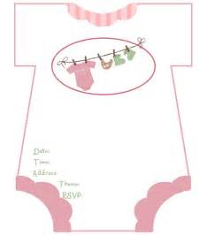 baby shower invitations free template invitations
