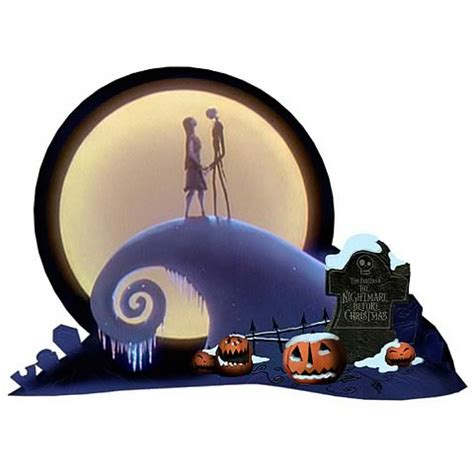 nightmare before christmas home decor nightmare before christmas sprial hill diorama neca