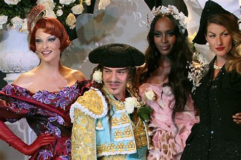Christian To 60th Anniversary With A Couture Show by 17 Best Images About Galliano For Cd F W 2007 08