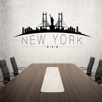 new york skyline wall sticker best new york skyline wall decal products on wanelo