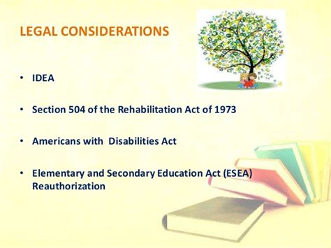 section 504 rehabilitation act detailed presentation on learning disabilities