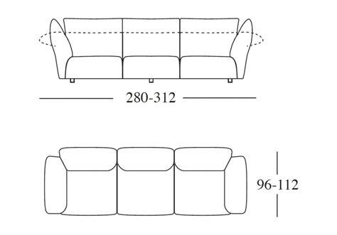 divano standard edra standard divano 3 posti edra milia shop