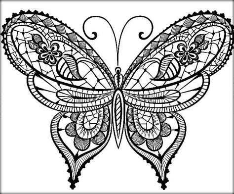 butterfly coloring pages pdf beautiful butterfly coloring pages for preschool color zini