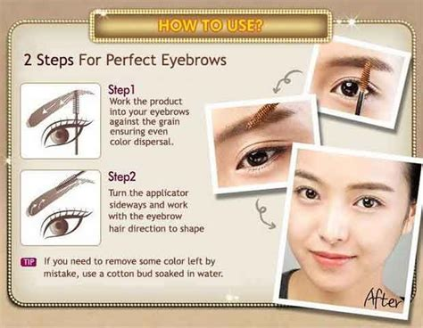 Etude Mascara Eyebrow etude house eyebrow mascara korean cosmetics skincare