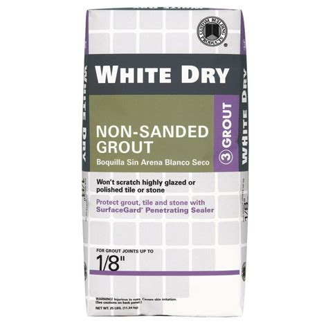 custom building products white 5 lb non sanded grout
