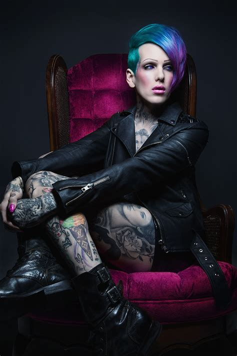 jeffree star house jeffree star quot love to my cobain quot photo shoot jackson and co milwaukee