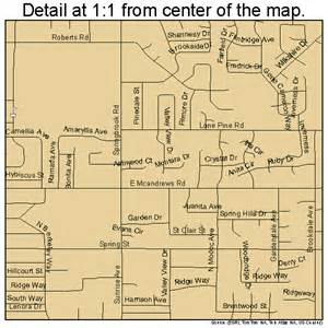 Map Of Medford Oregon by Medford Oregon Street Map 4147000