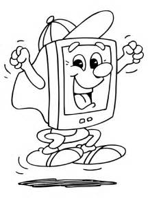 computer coloring pages computer coloring pages