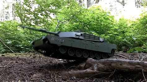 m1a1 abrams tank rc remote by true heroes 1 16 scale