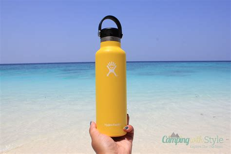 To Market Recap Cool Flask by Traveling In The Tropics With The Hydro Flask 21 Oz