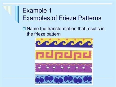 frieze pattern exles ppt 7 6 frieze patterns powerpoint presentation id 668861