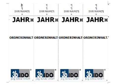 Word Vorlage Ordner Vorlage Zum Leitz Ordner Beschriften Mit Word Vorlagen4you