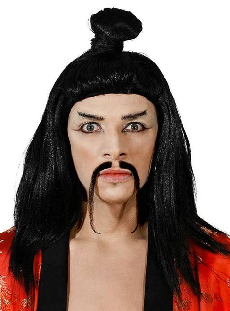 wigs world of wigs costume wigs styles men 70s shag samurai wig maskworld com