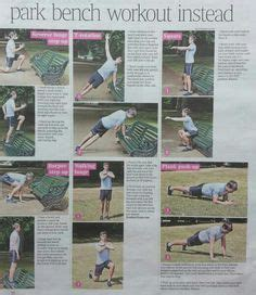 park bench exercises ideas better life and workout on pinterest