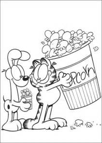 baby garfield coloring pages 301 moved permanently