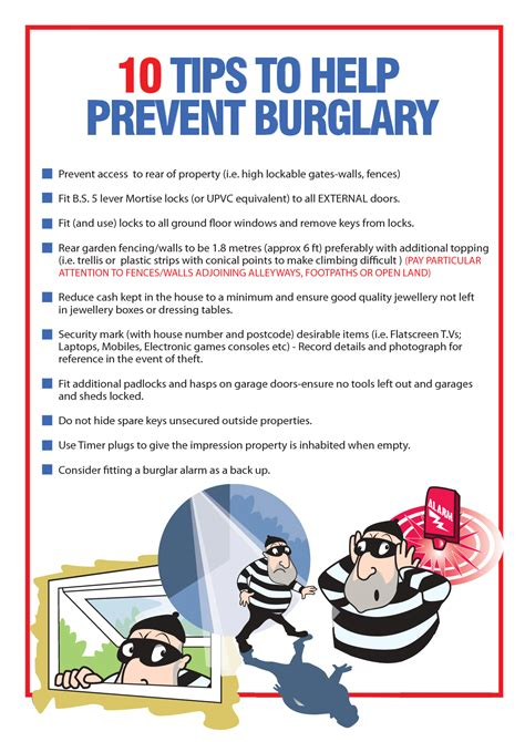 burglary prevention tips 2017 2018 best cars reviews