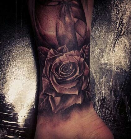 rose tattoo for guys tattoos stretched ears piercings