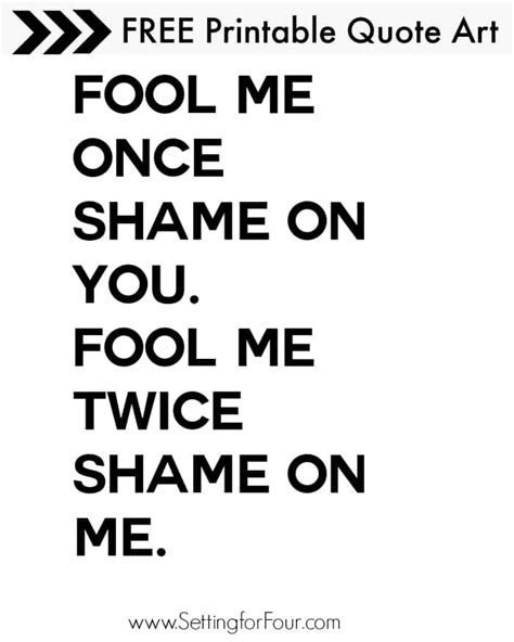 printable success quotes fool me once quotes like success