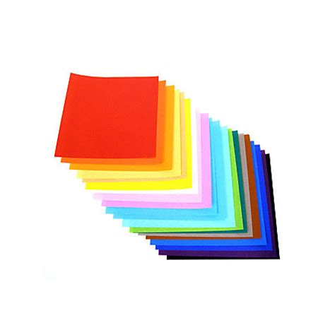 Fold Ems Origami Paper - yasutomo foldems origami paper 9 34 assorted bright colors