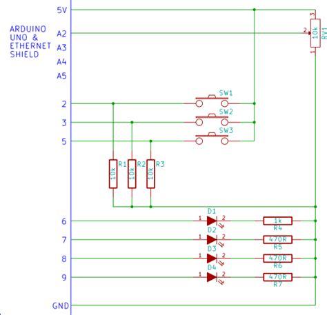 tutorial arduino web server arduino webserver input and output