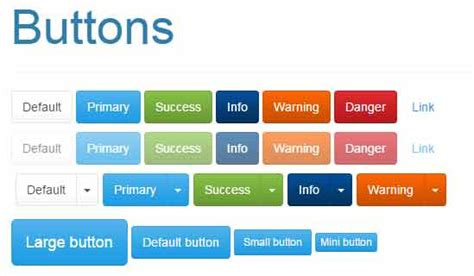 bootstrap themes buttons 11 free and premium bootstrap templates responsive a z