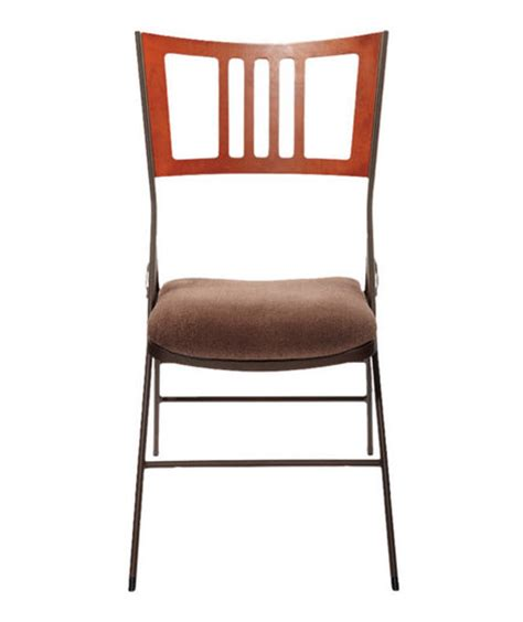Innobella Destiny Mission Bistro Folding Chair Most Comfortable 6 Comfortable Folding Chairs Real Simple