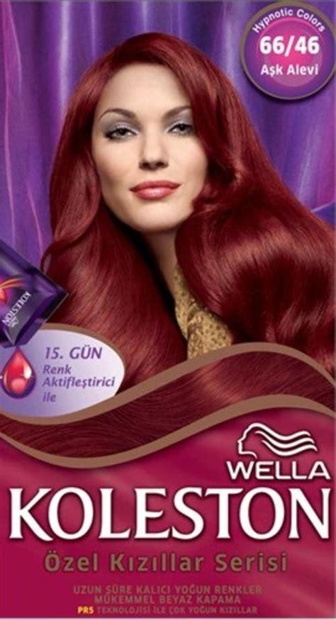 Koleston Red | hair colourants dyes koleston red specials 66 46