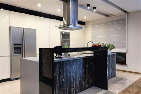 Modern Kitchen With Black Appliances 104 Modern Custom Luxury Kitchen Designs Photo Gallery