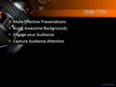 free camera photography powerpoint template free photography camera ppt template
