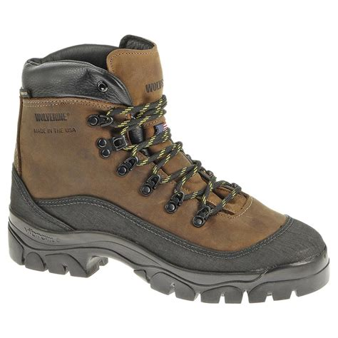 wolverine hiking boots s 6 quot wolverine 174 sentinel waterproof hiking boots