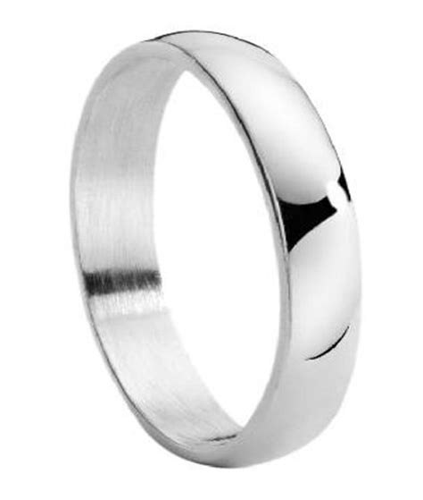 stainless steel wedding ring for classic domed