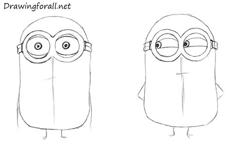 how to draw doodle for beginner how to draw minions drawingforall net