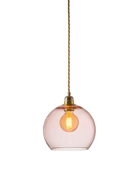 Bright Coral Rowan Pendant Light In Medium Design Essentials Coral Pendant Light