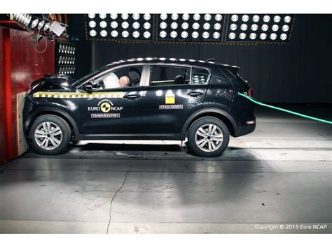 Kia Sportage Crash Test Kia Sportage Optima Earn Five Crash Safety Ratings