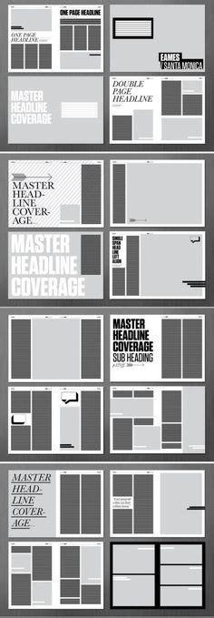 magazine grid layout templates 25 best newspaper layout ideas on pinterest newspaper