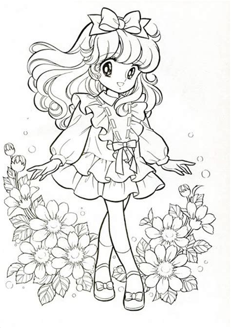 vintage japanese coloring book 9 shoujo coloring for manga coloring vintage japanese coloring book 7 coloring book